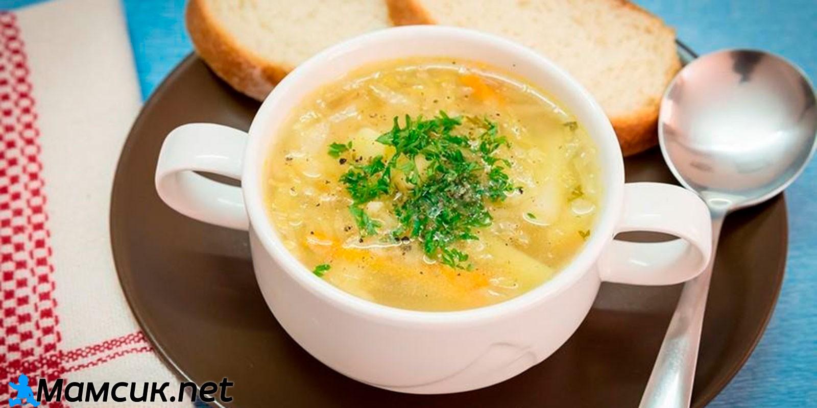 Куриный суп с овощами. Питание мамы при ГВ
