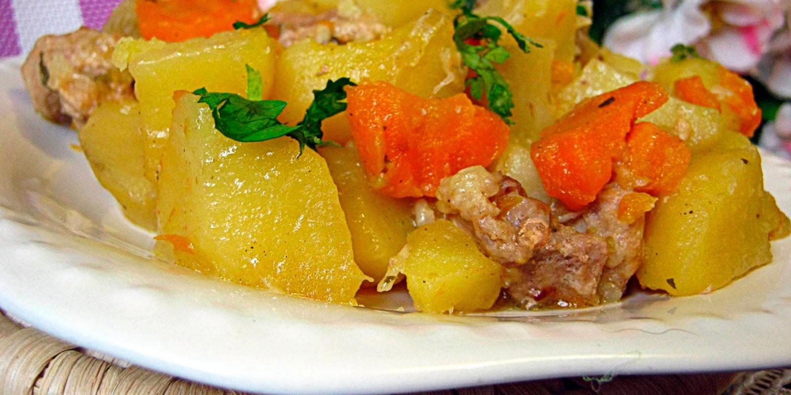 Грудка куриная тушеная с овощами рецепт пошагово