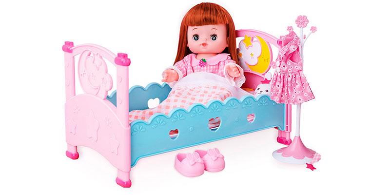 Картинка уложи куклу спать